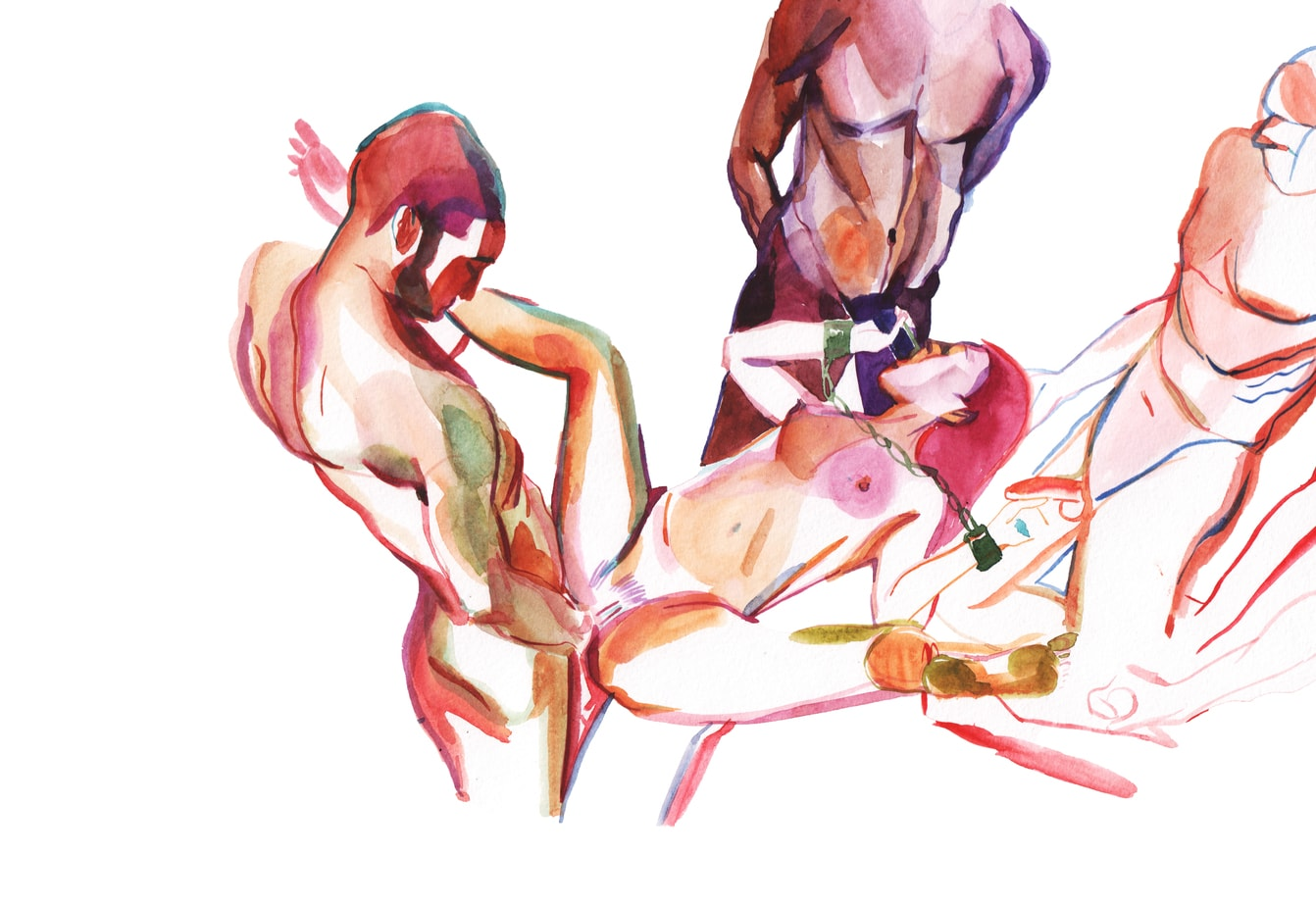 For men woman erotic one art with and two have hit
